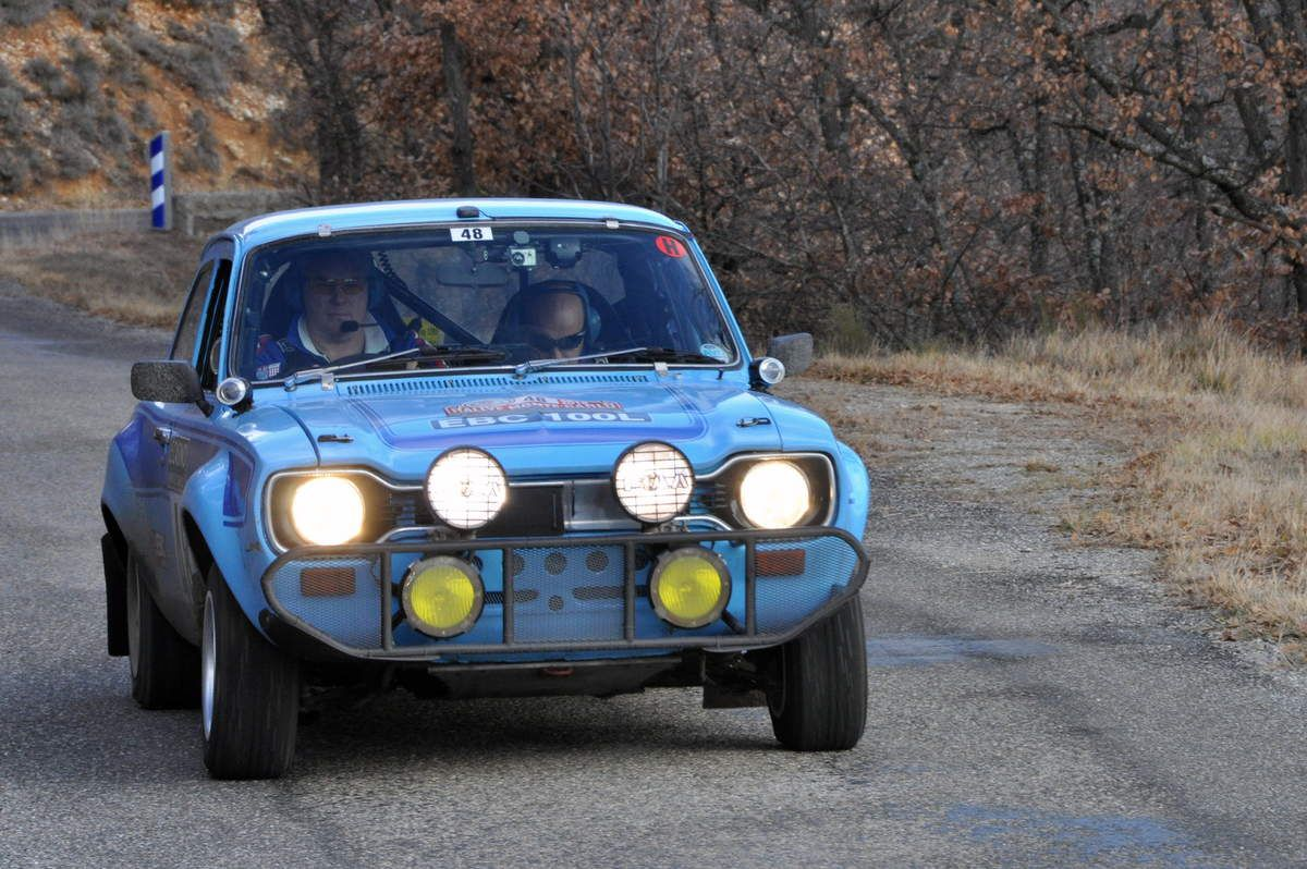 Xerxes Matten(GB)/Clifford Debono(MT) Ford Escort 1600 RS 1972 (145ième)