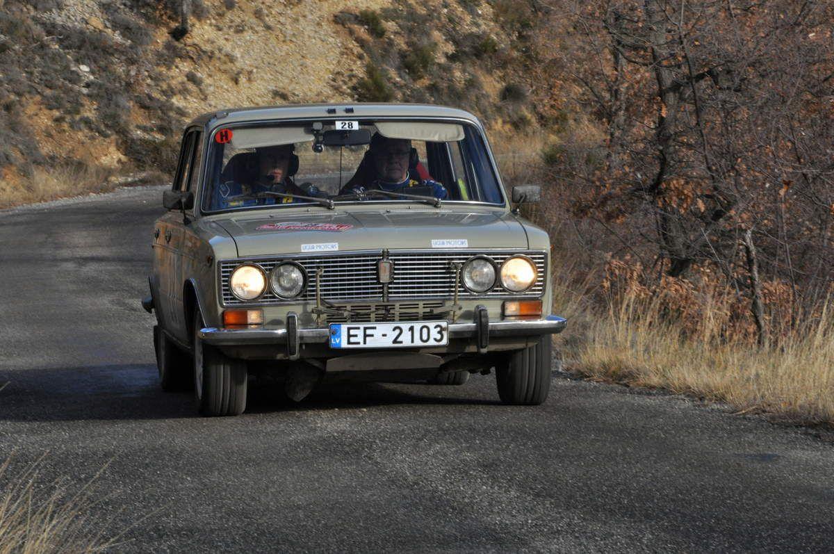Agris Stanevics(LV)Janis Kirkovalds(LV) Lada 1500 S 1974 (22ième)