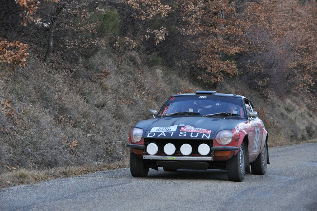 Grant Tromans(MC)/David Tomlin(GB) Datsun 240 Z 1973 (44ième)