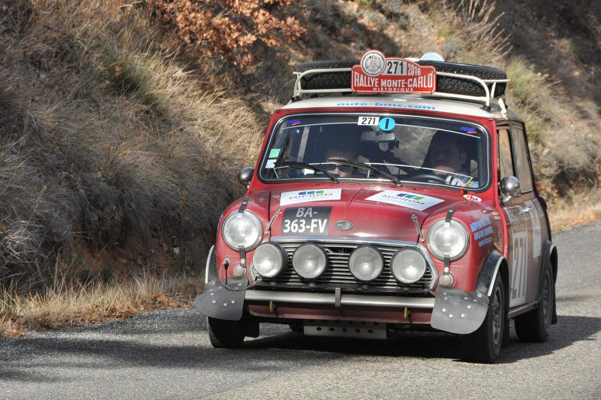 Laurent & David Millara(F) Austin Mini Cooper S 1969 (133ième)