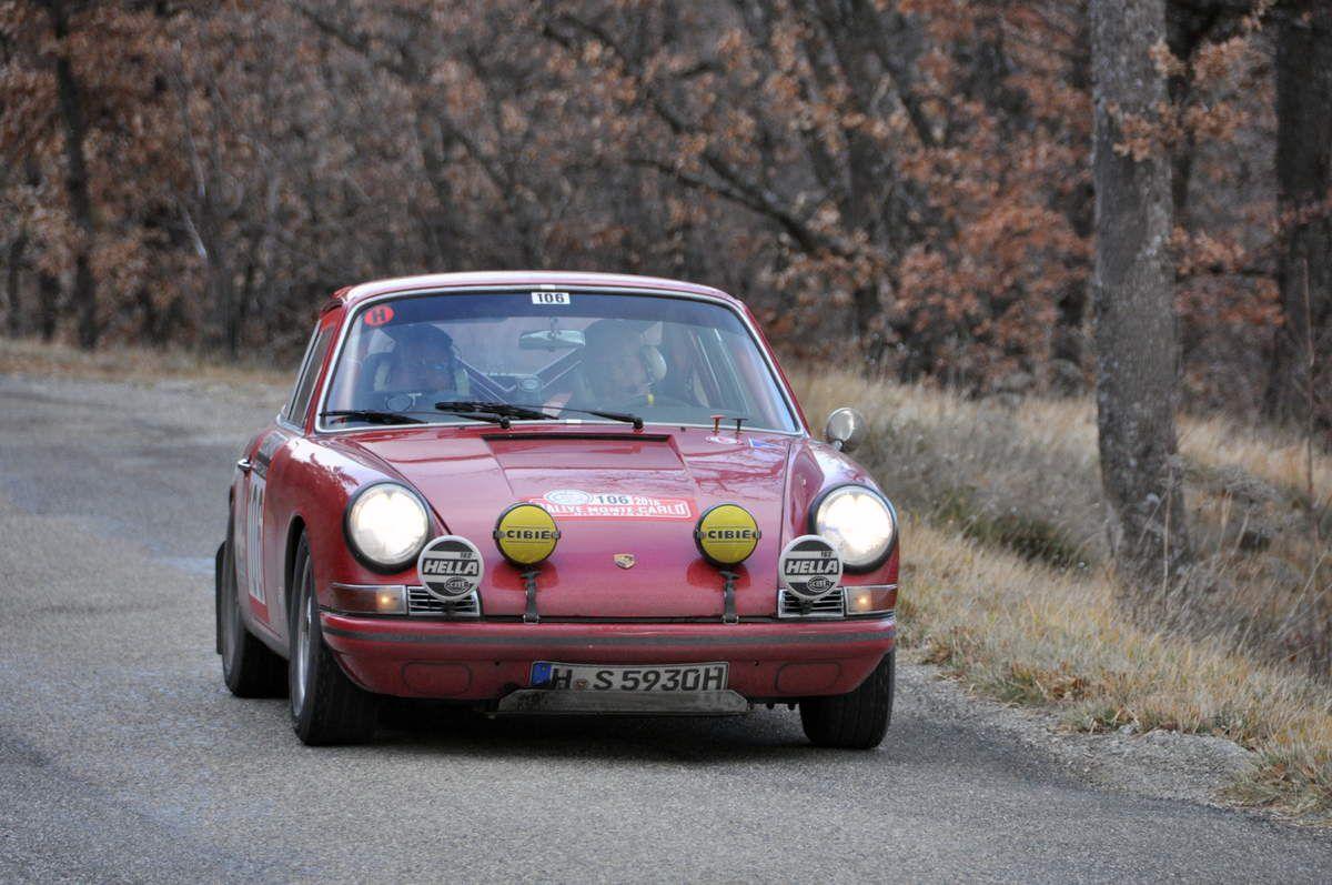 Sven-Otto Rumpfkeil(D)/Winfried Hesse(D) Porsche 911 T 1967 (184ièmes)