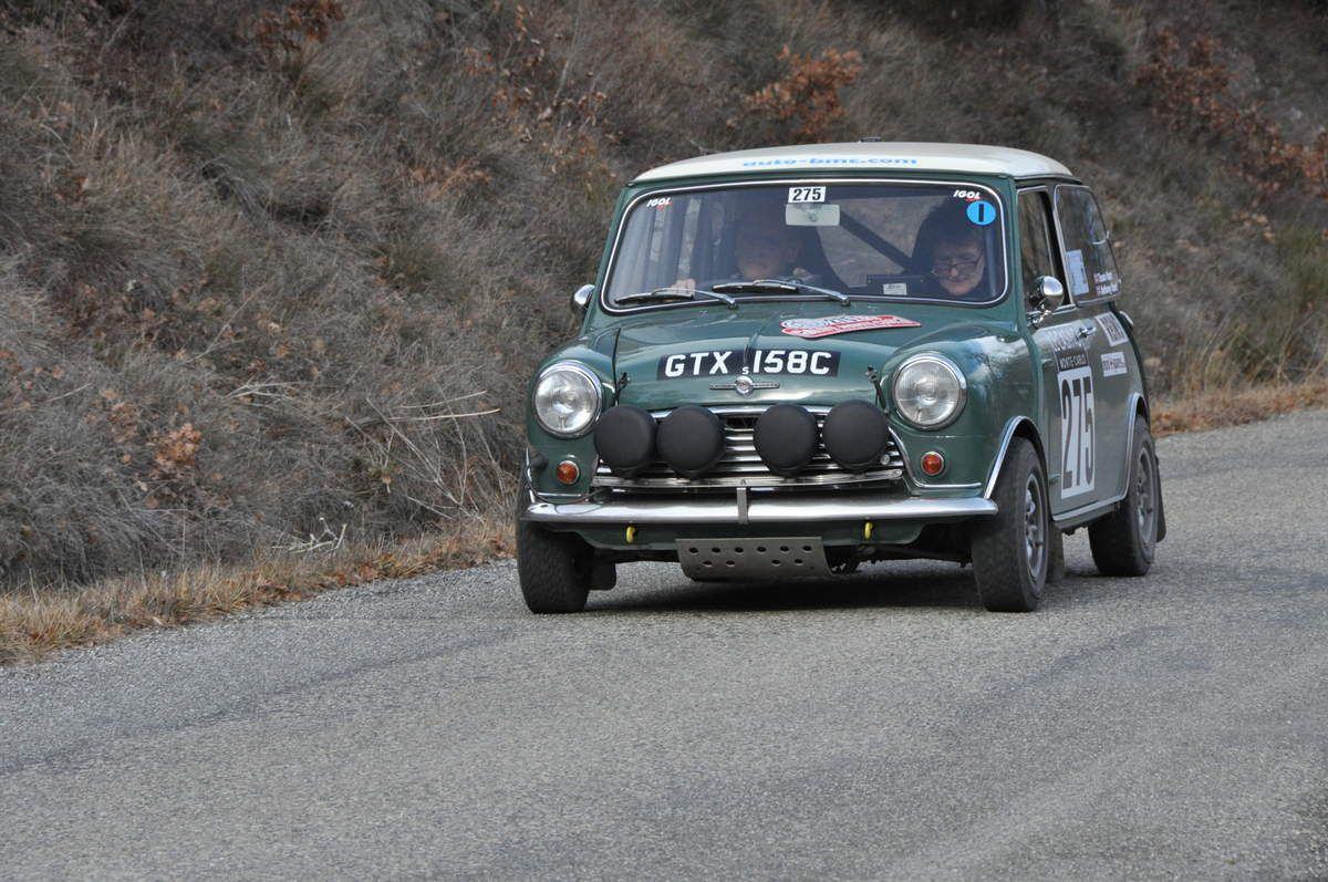 Anthony &Tessa Hart(GB) Morris Mini Cooper S 1965 (187ièmes)