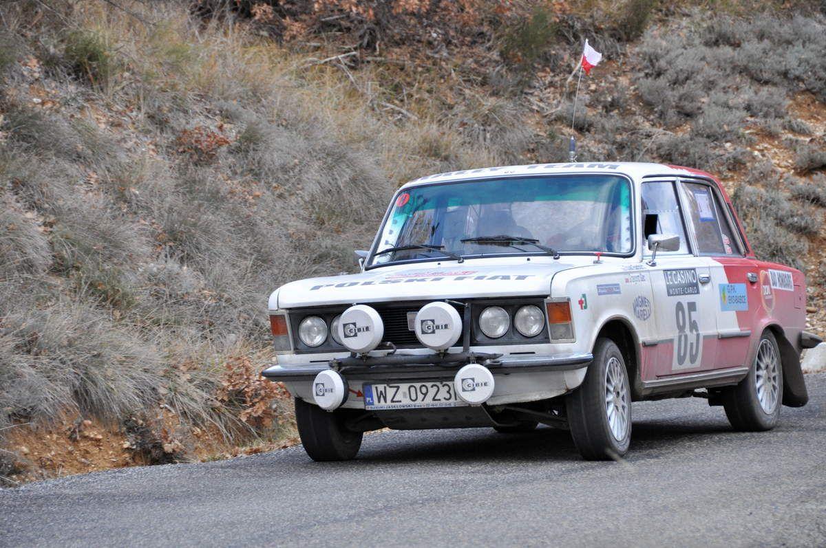 Robert Burchard(PL)/Grzegorz Gac(PL) Polski Fiat 125P 1979 (54ièmes)