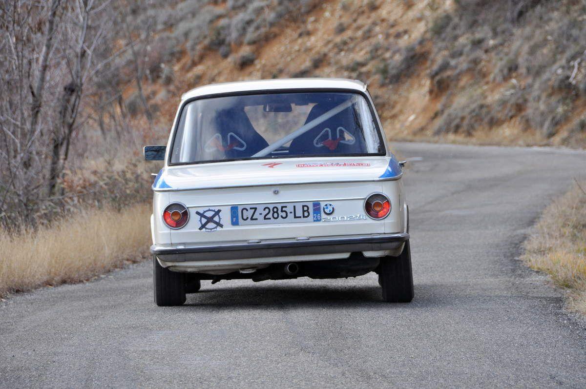 Yves Ruspeler(F)/Hervé Delabre(F) BMW 2002 tii 1971 (128ièmes)