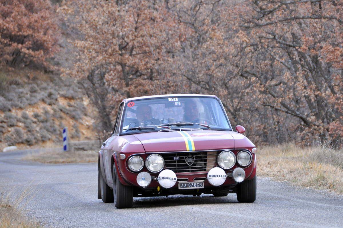 Ermano & Michele Keller(CH) Lancia Fulvia 1,6 HF 1969 (abandon)