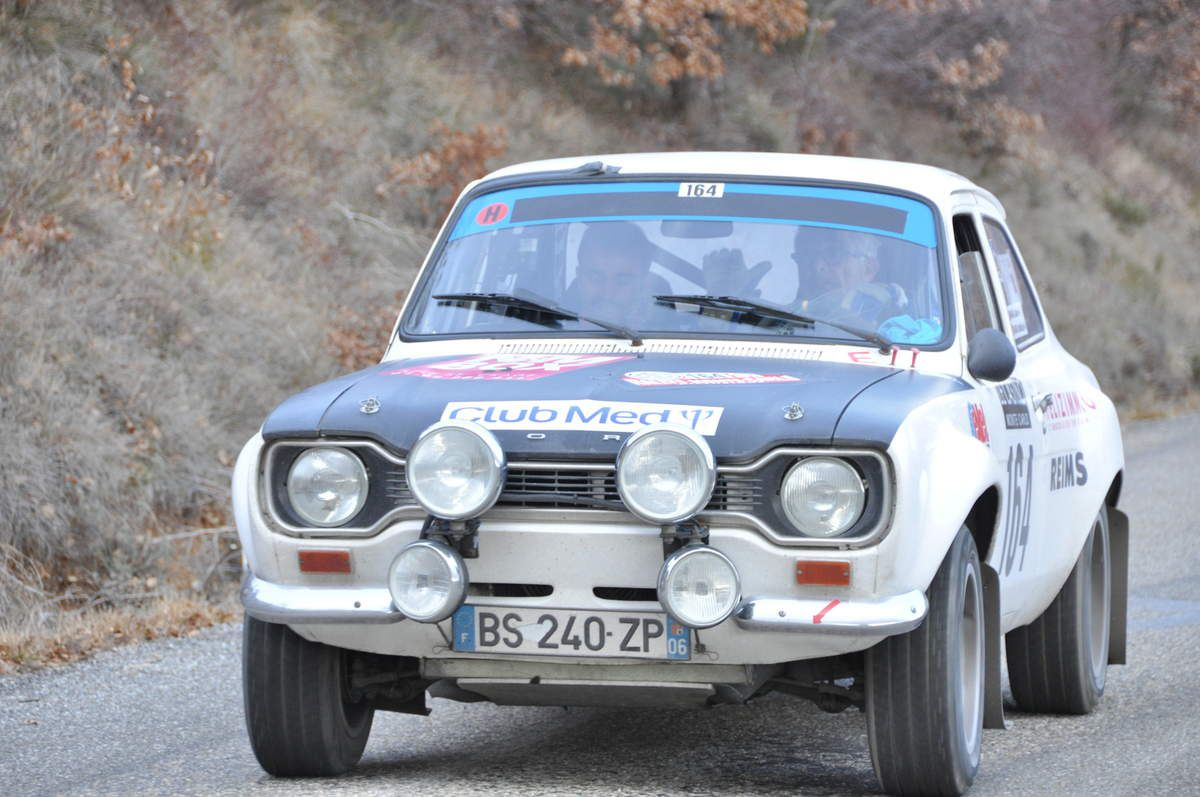 Alain & Mathias Maria(F) Ford Escort RS2000 Mk I 1973 (163ièmes)