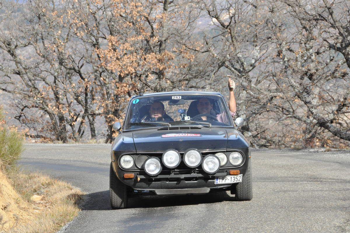 George Delaportas(GR)/Neofytos Kourtesis(GR) Lancia Fulvia 1,3 S Coupé 1973 (137ièmes)