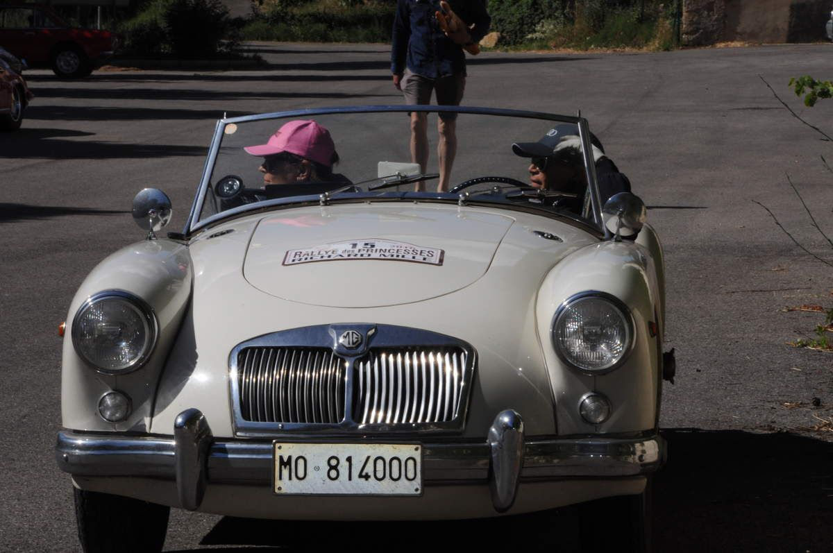 MG A Spider 1959