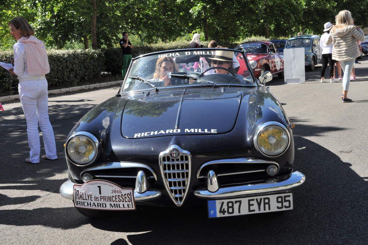 Alfa Romeo Guilietta cabriolet 1961