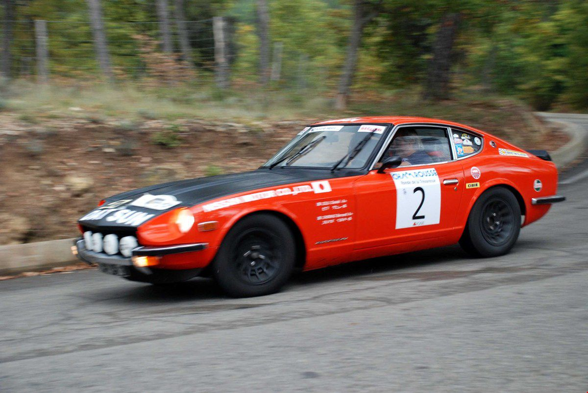 Datsun 240 Z 1971 ..... Photo : Henri Cassini