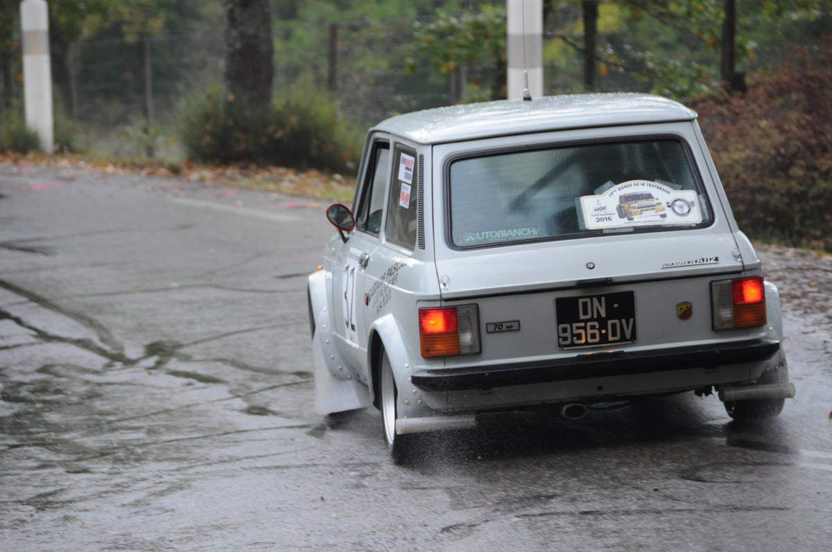 Autobianchi A112 Abarth 70 HP Gr. II 1976 ..... Photo : Rémi Saumont