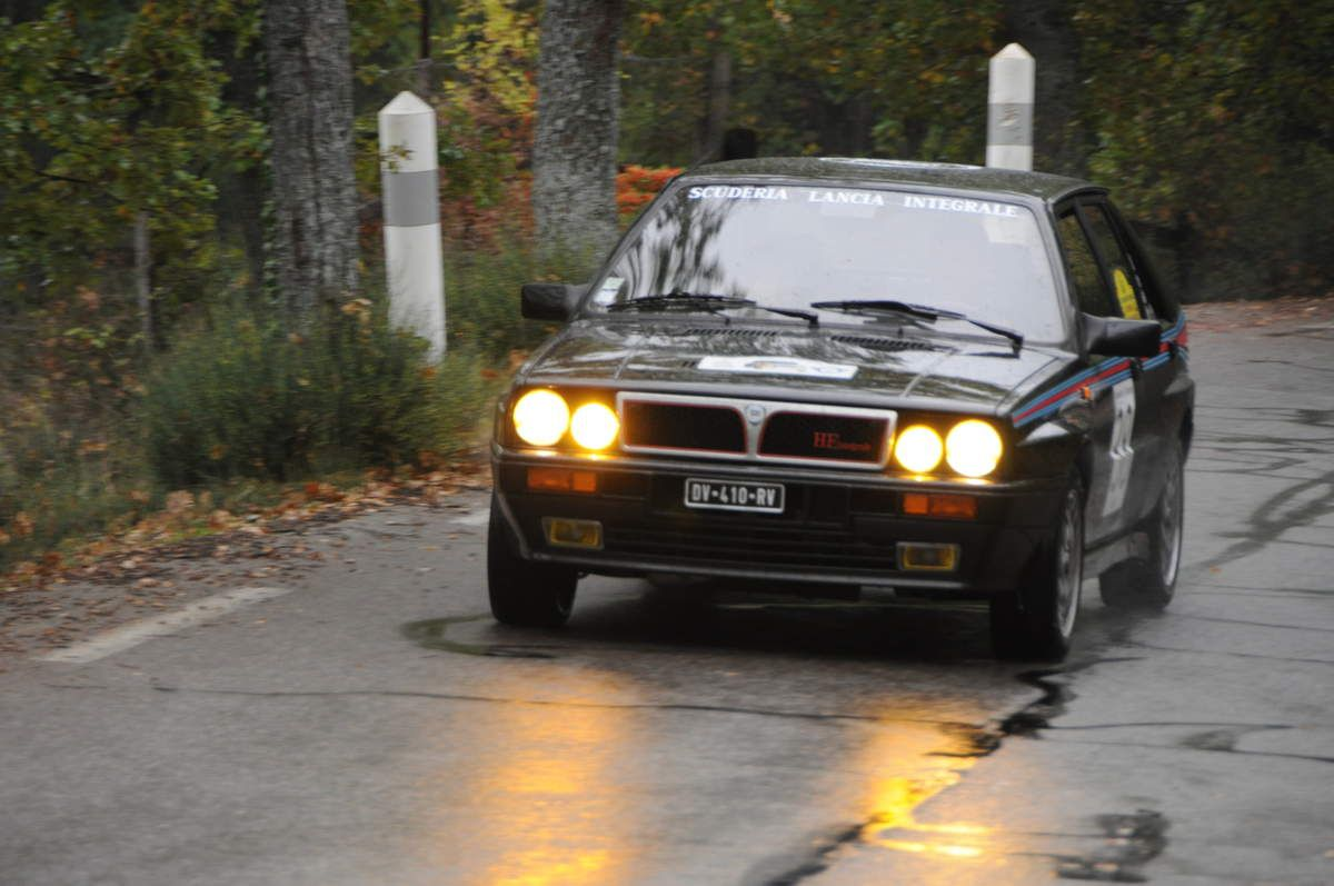 Lancia  Delta HF Integrale 1989 ..... Photo : Rémi Saumont