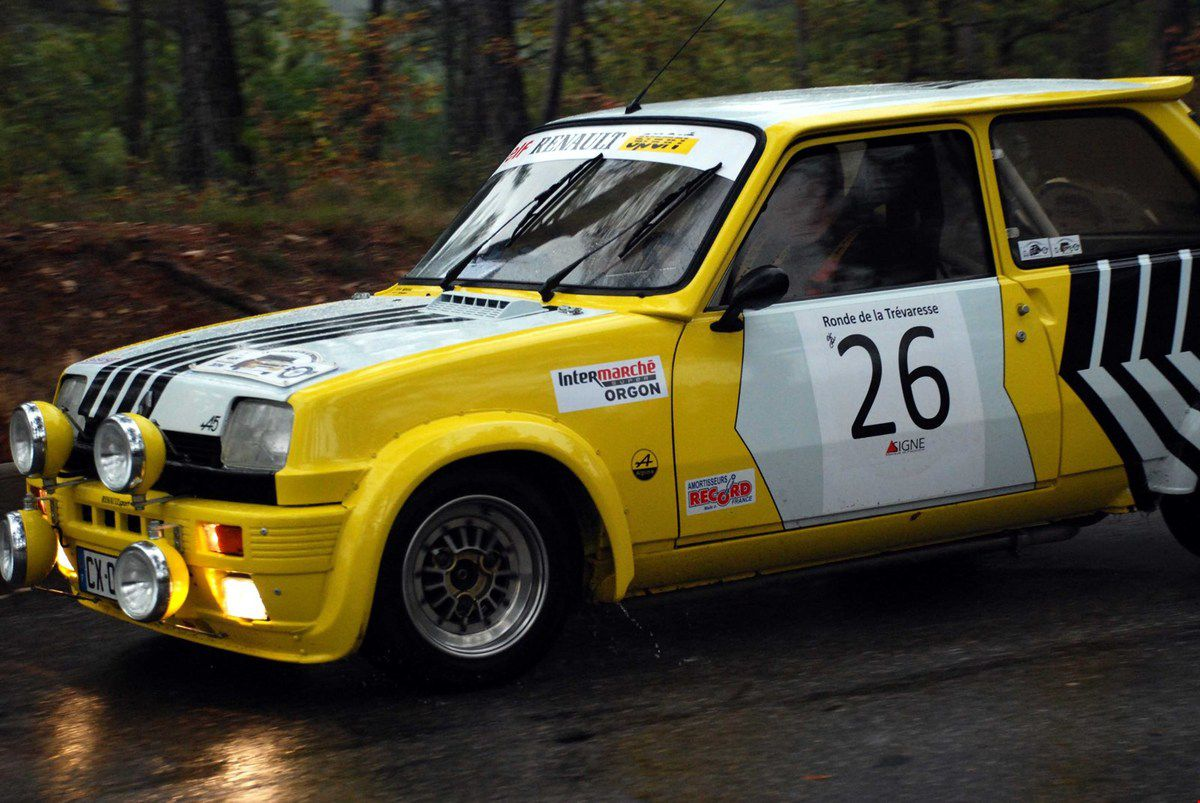 Renault 5 Alpine Turbo 1983 ..... Photo : Henri Cassini