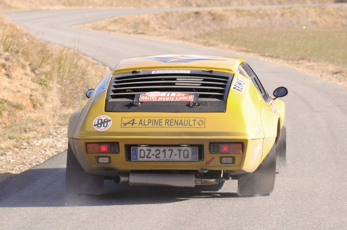 Firmin Bour(Fr)/Laurent Carrion(Fr) Alpine A310 1600 1974 ..... Photo : R.S.