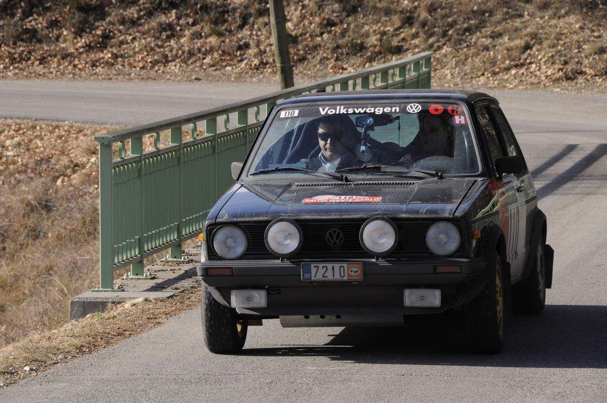 George Delaportas(GR)/Petros Vasilopoulos(GR) Volskwagen Golf GTI 1979 ...... Photo : R.S.