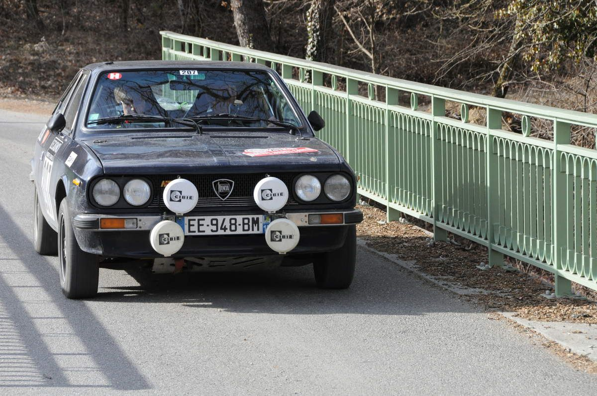 Didier et Maryse Boutillier(Fr) Lancia Beta Coupé 1978 ..... Photo : R.S.