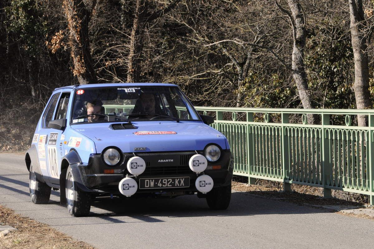 José et Thomas Barat(F) Fiat Ritmo 60 1979 ..... Photo : R.S.