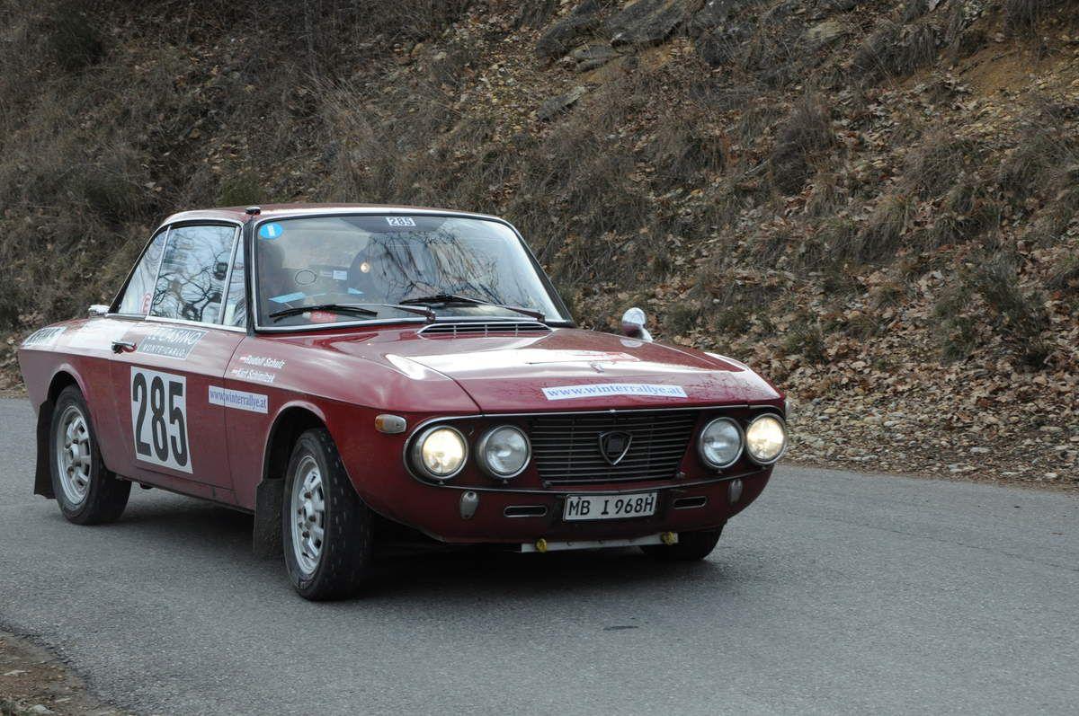 Kurt Schimitzek((AUT)/Rudolf Sculz(AUT) Lancia Fulvia Coupé 1,3 S 1969 ..... Photo : R.S.