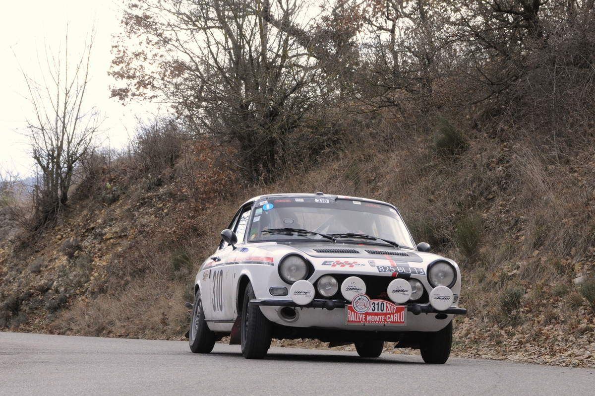 Guy et Christiane Priam(F)Simca 1200 S Coupé 1969 ..... Photo : R.S.