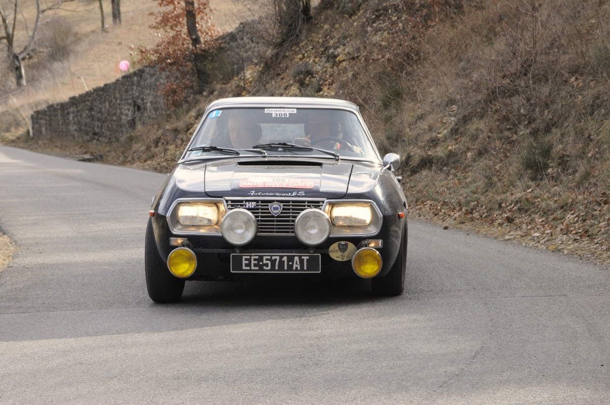 Philippe Fassier(F)/Laurent Hubert(F) Lancia Fulvia Zagato 1,3 1969 ..... Photo : R.S.