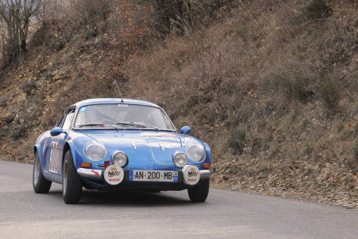 Xavier Jeunier(F)/mmanuel Hacquart(F) Alpine A110 1300 1976 ..... Photo : R.S.