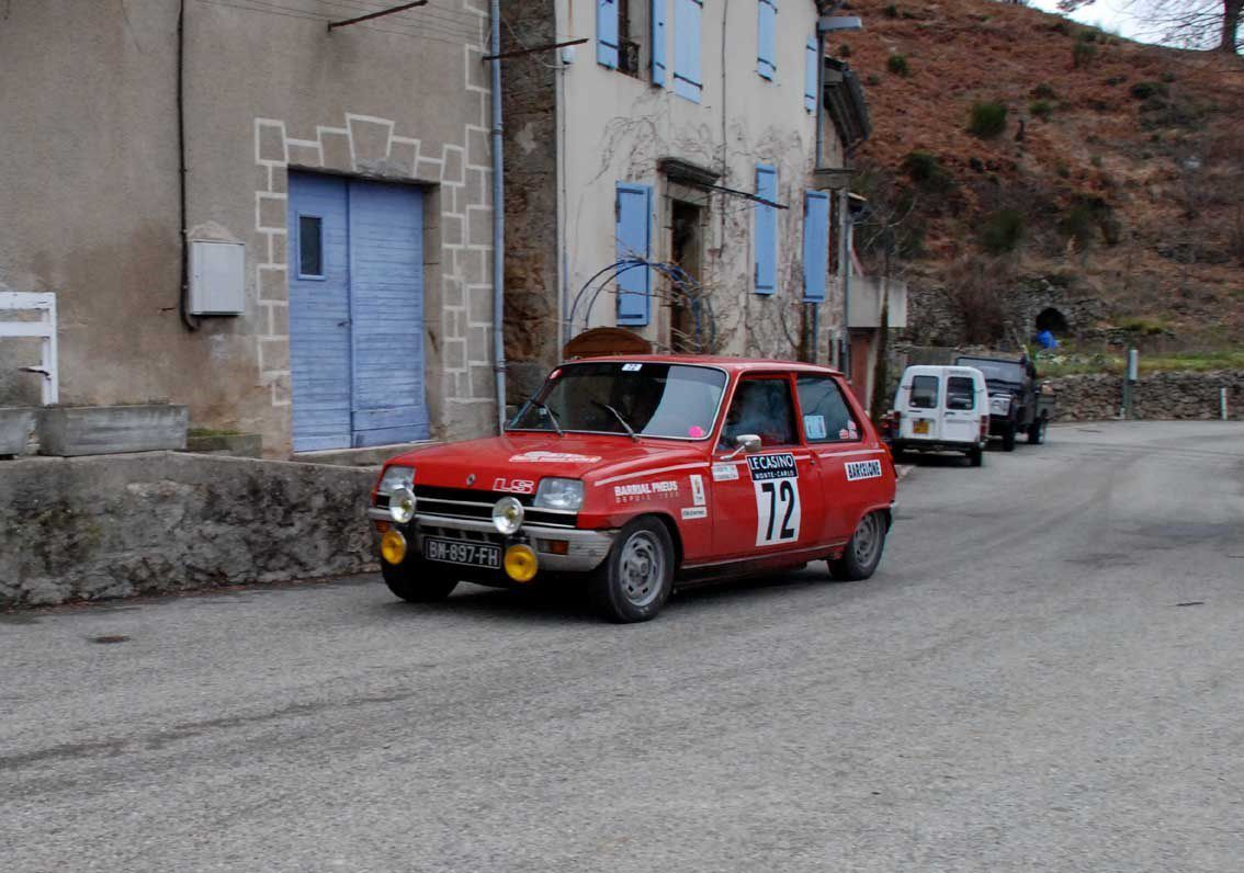 Philippe Reny(F)/Dominique Barrial(F) Renault 5 LS 1974 ..... Photo : H.C.