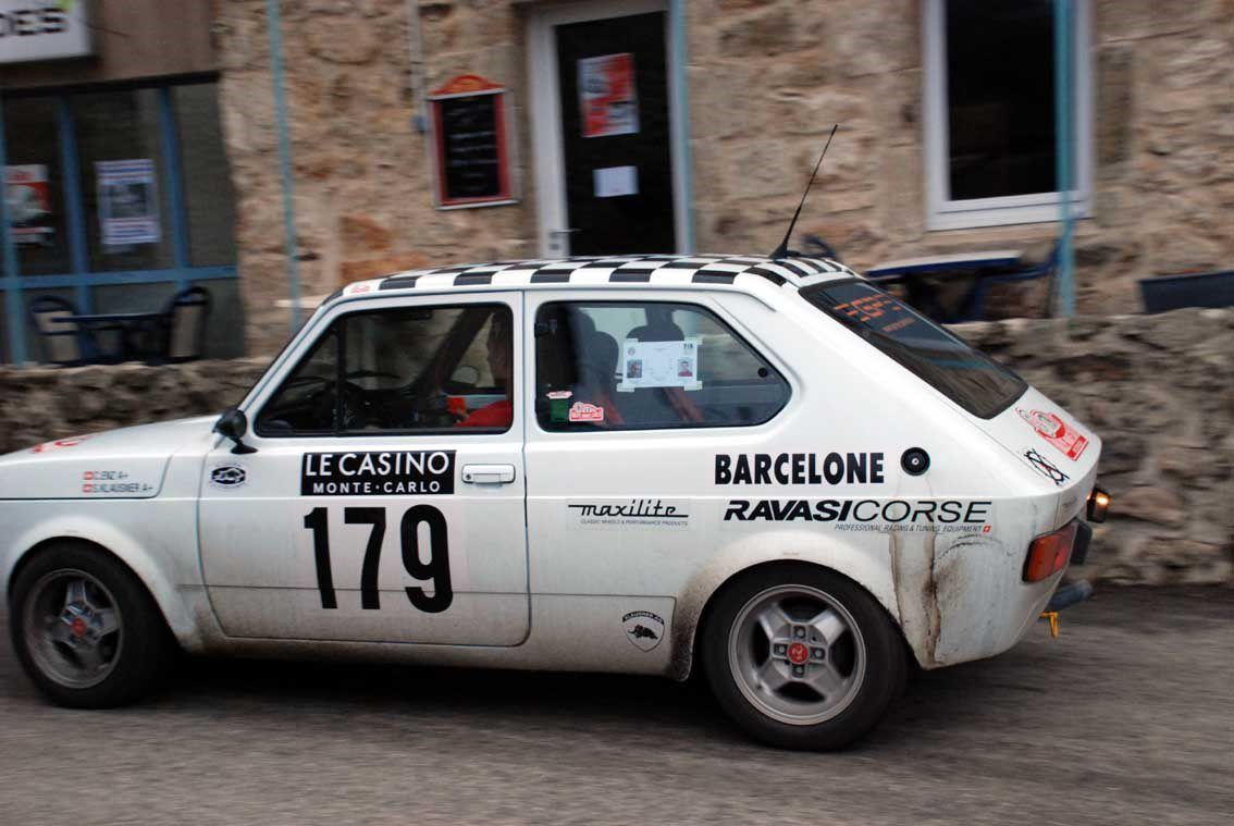 Claudio Enz(CH)/Sven Klausner(CH) Fiat 127 1979 ..... Photo : H.C.