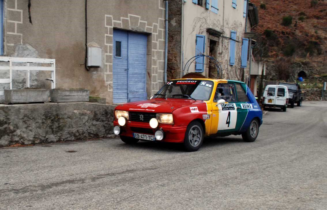 Carlos Antunes Tavares(F)/Laurent Vallery-Masson(F) Peugeot 104 ZS 1979 ..... Photo : H.C.