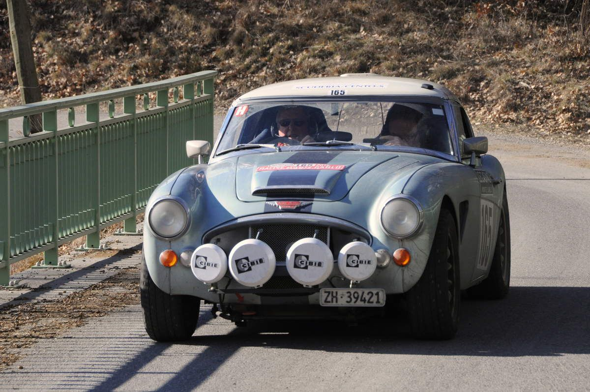 Marco Trevisan(CH)/Urs Ernst(CH) Austin Healey 30000 Mk III 1967 ..... Photo : R.S.