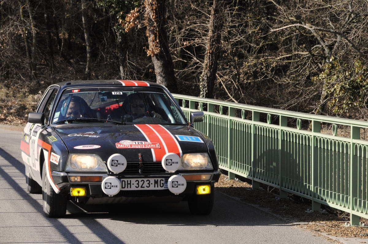 Alain Callon(F)Marc Gélibert(F) Citroën CX 2400 GTI 1979 ..... Photo : R.S.