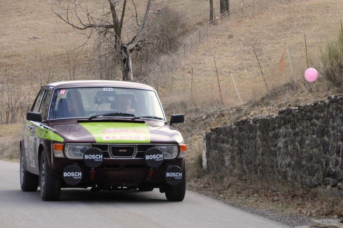 Michael Muller(D)/Gerhard Spiesberger(D) Saab 99 EMS 1977 ..... Photo : R.S.