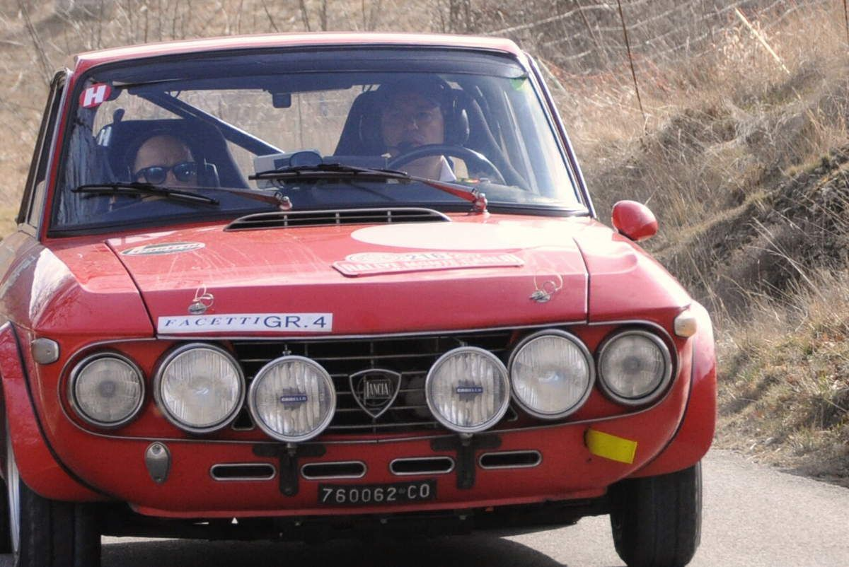 Giustino et Alessandro De Sanctis(I) Lancia Fulvia 1600 HF 1970 ..... Photo : R.S.