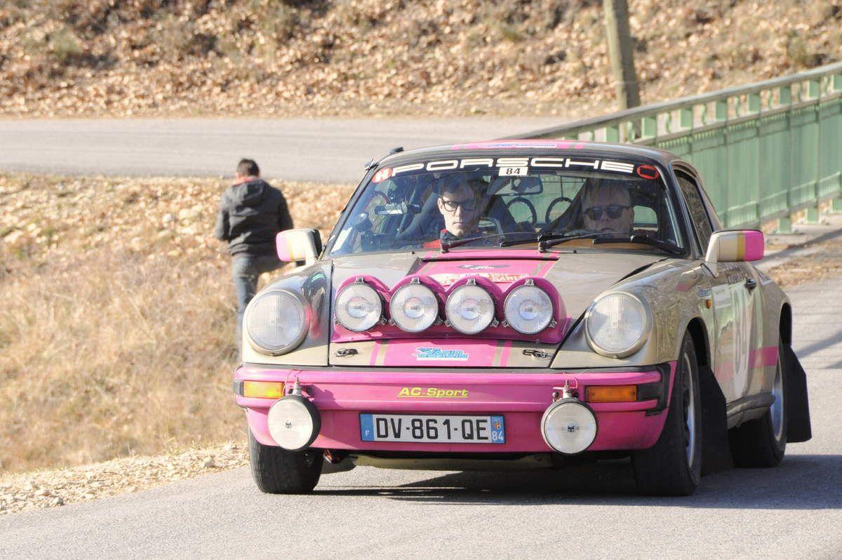 André et Charles-André Recordier(F) Porsche 911 2,7 1977 ...... Photo : R.S.