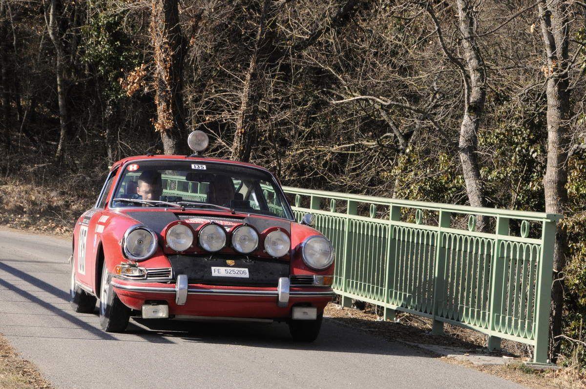 Luigi Zampaglione(I)/Luca Beltrame(I) Porsche 911 1965 ..... Photo : R.S.