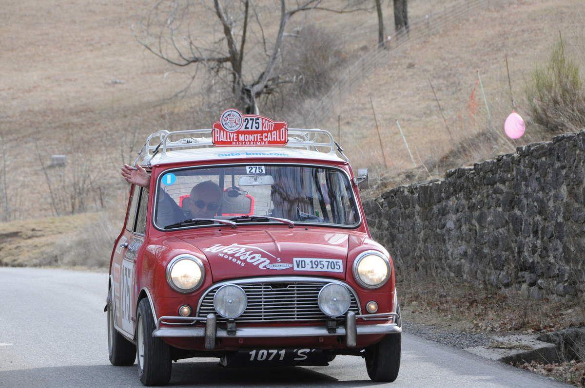 Michel Chatigny(CH)/Fabrice Redard(CH) Austin Mini Cooper S 1963 ..... Photo : R.S.