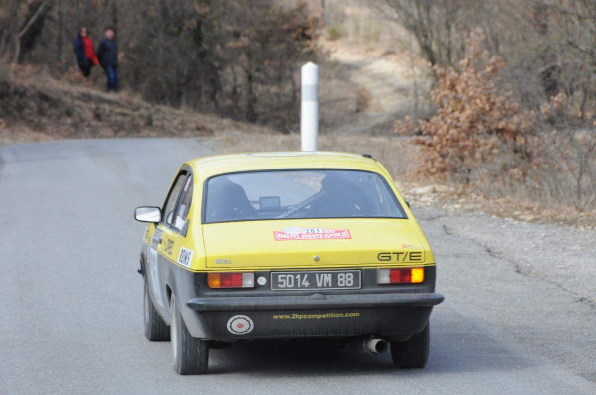 Max Perdrix(F)/Philippe Leplaideur(F) Opel Kadett GTE 1977 ..... Photo : R.S.