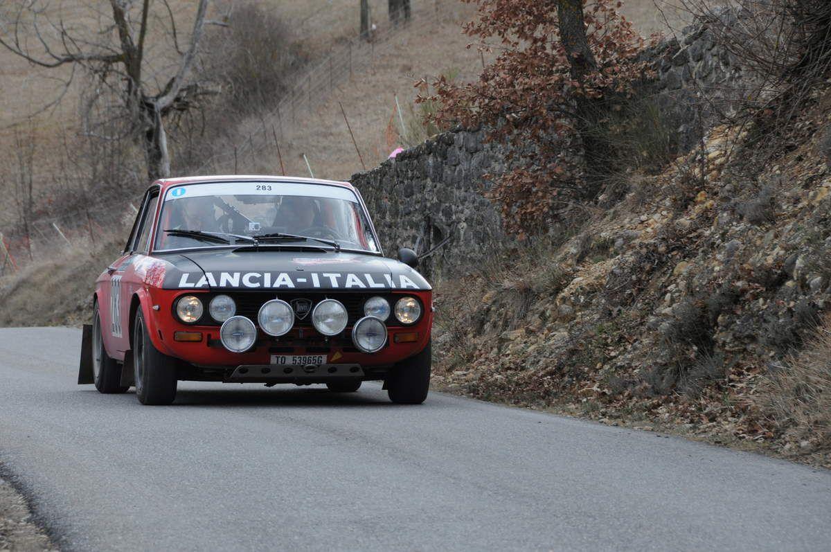 Enrico et Daniele Bertolini(I) Lancia Fulvia Coupé 1,3 s 1972 ..... Photo : R.S.