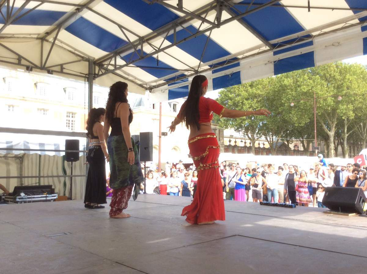Flamenco , rock et danse orientale au Festival des associations
