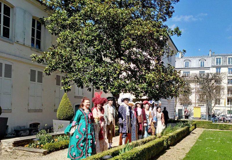 Charmant petit musée bd de la Reine à Versailles