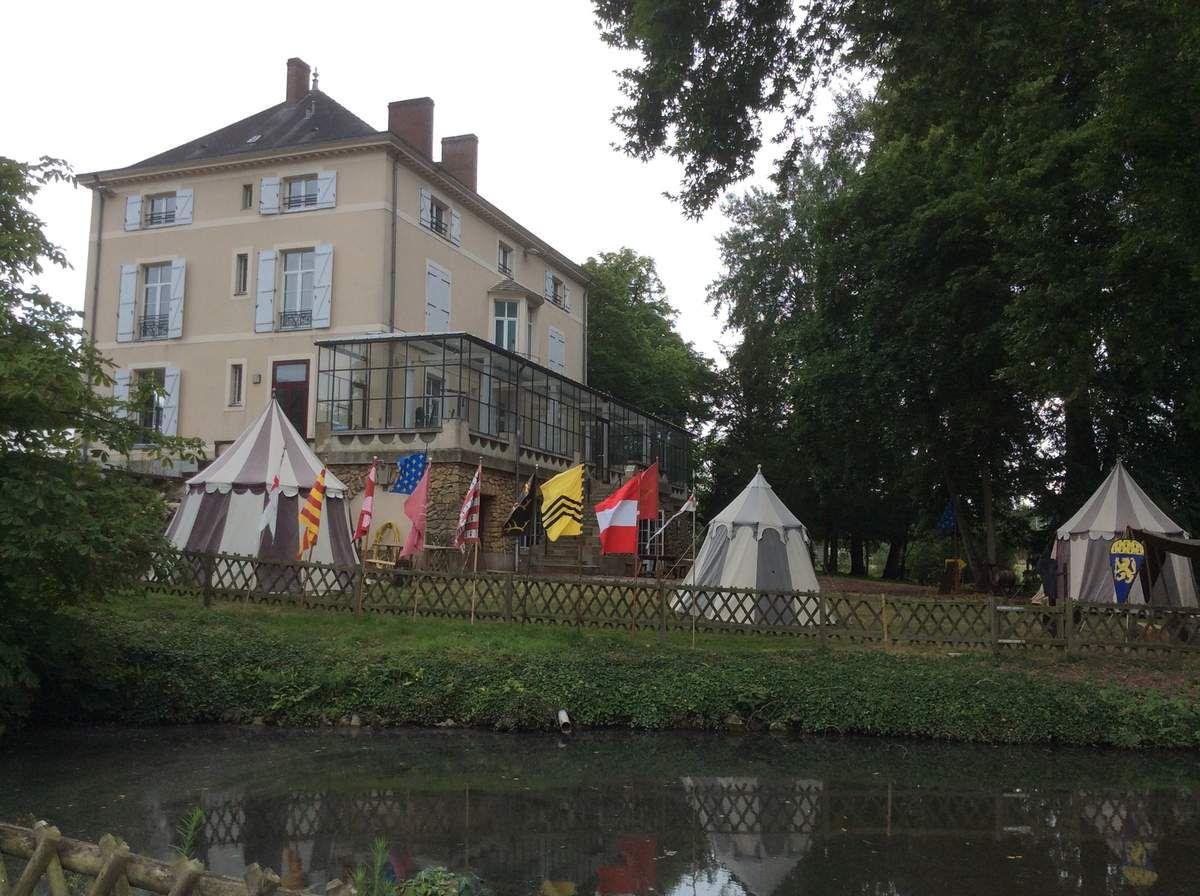 camp medieval à la Gautellerie