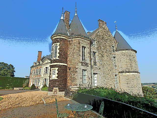 Chateau de Montmirail ( sarthe)