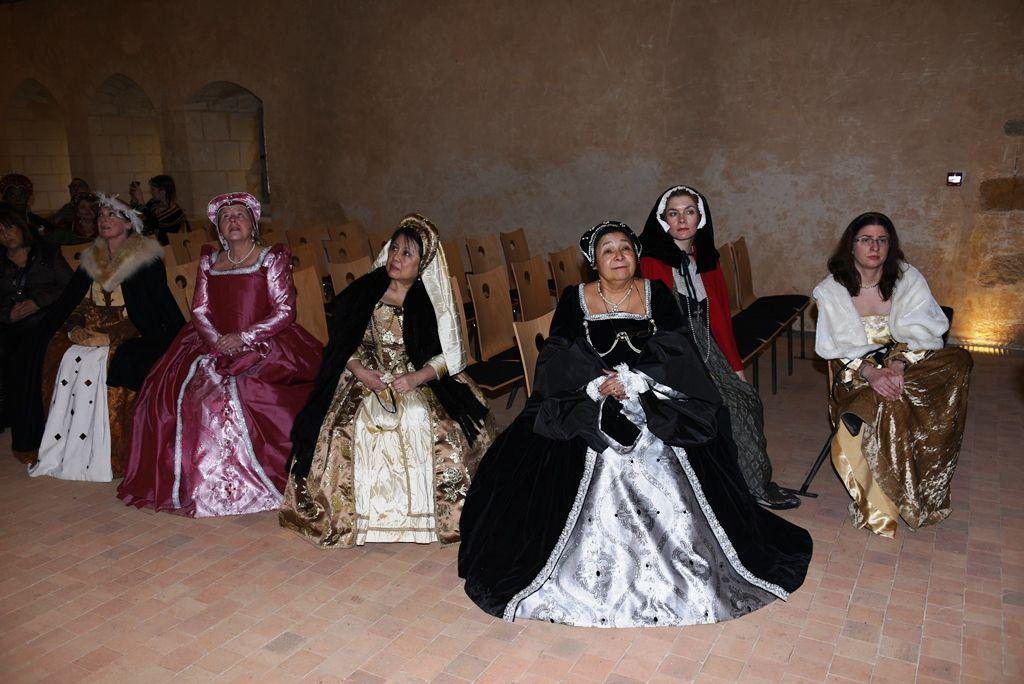 Balade à l'abbaye de l'Epau, le lendemain du bal Renaissance
