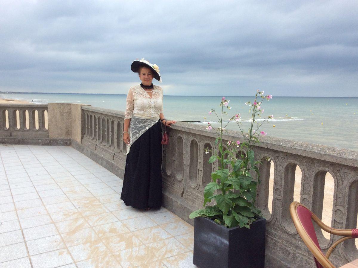 vernissage de l'exposition ma part de flou , Festival des Impressionnistes, Casino de Cabourg