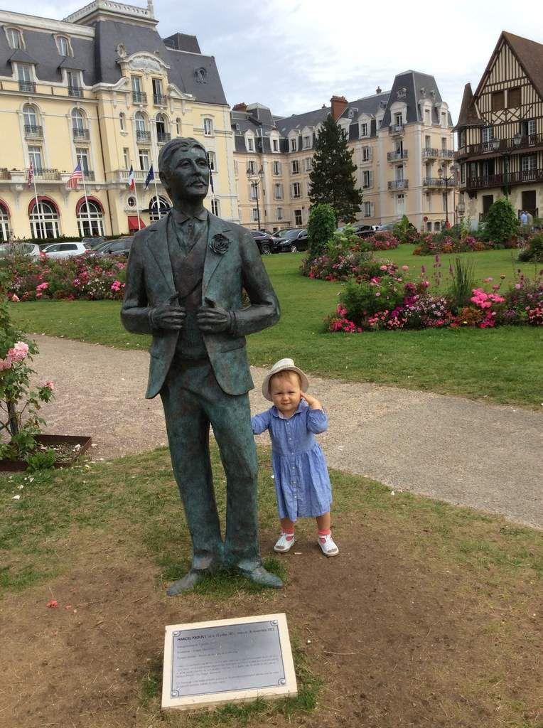 Louve au grand hôtel , avec Marcel Proust