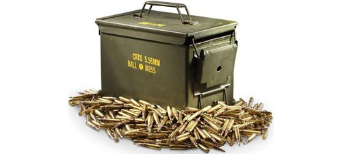 Le calibre 5.56 et la .223 Remington
