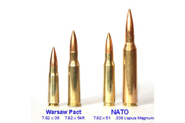 Le SVD Dragunov et le calibre 7.62x54R