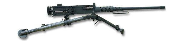 La .50 BMG (12,7 x 99mm OTAN)