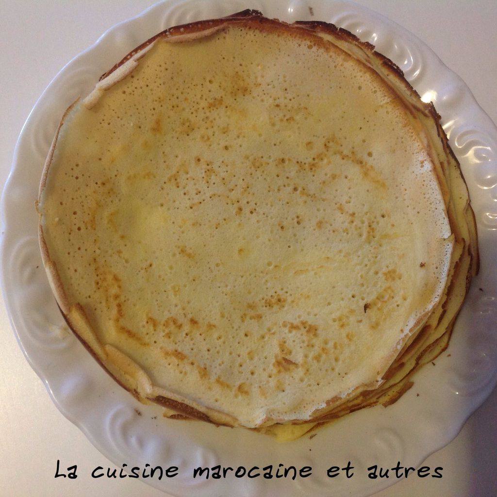 Recettes Crepes Oum Walid