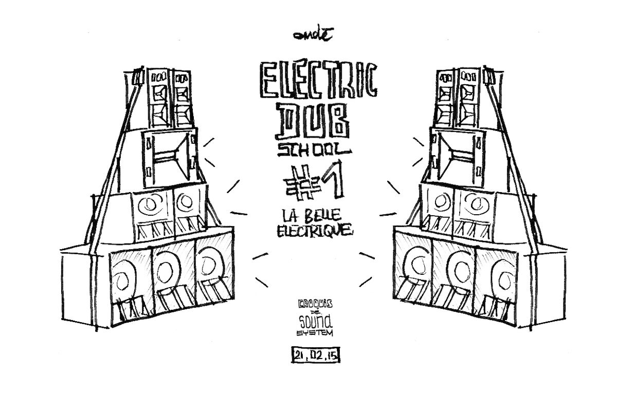 Roots Collective // Weeding Dub // Channel One à La Belle Electrique // Février 2015