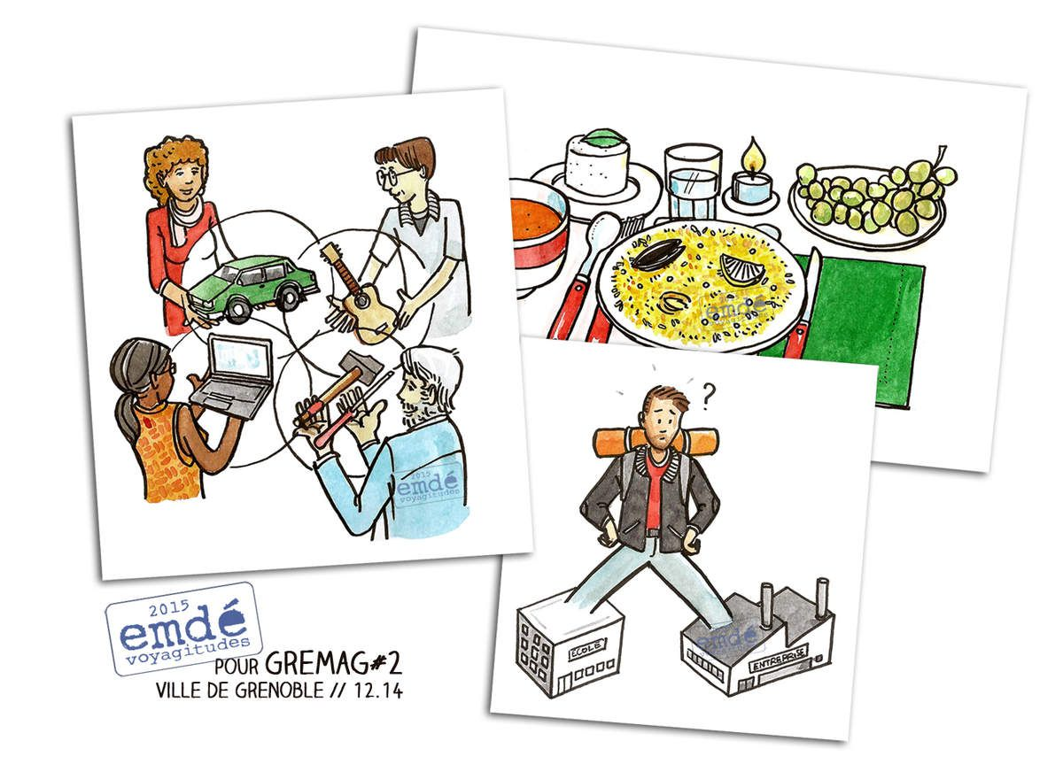 Illustrations pour GreMaG #2